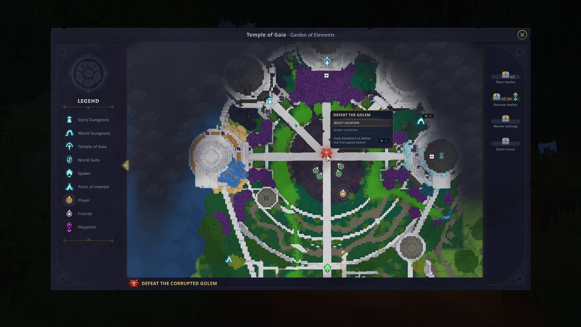 World map in Hytale